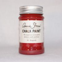 annie sloan chalk paint burgundy 100ml