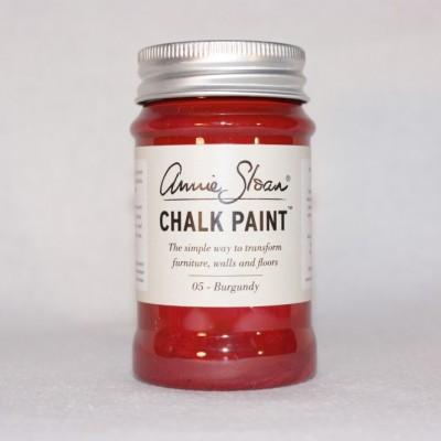 annie sloan chalk paint burgundy 100ml