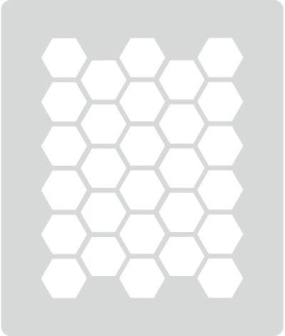 honeycomb grey