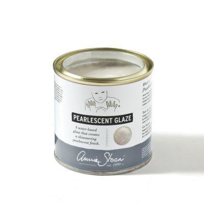 Pearlescent Glaze 250ml tin lid off