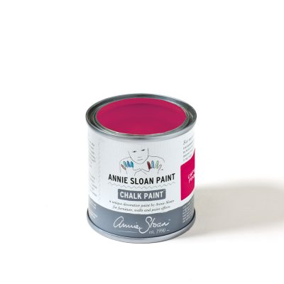 Capri Pink Chalk Paint TM 120ml tin sqaure